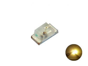 SMD LED 0603 warmweiß (golden sunny white)