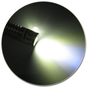 LED Adapter für Lichtwellenleiter Lichtleiter LWL Leuchtfarbe KALTWEISS
