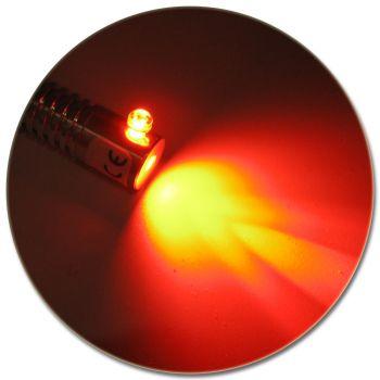 LED Adapter für Lichtwellenleiter Lichtleiter LWL Leuchtfarbe ROT