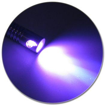 LED Adapter für Lichtwellenleiter Lichtleiter LWL Leuchtfarbe VIOLETT LILA