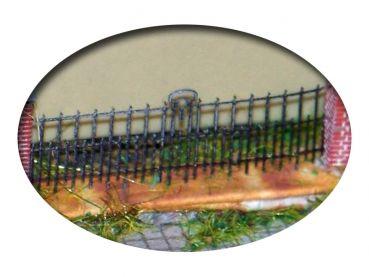 Alter Zaun, Bausatz für Spur H0, 1:87