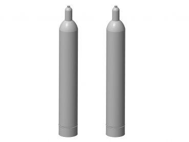 Gasflasche 33 kg, 2 Stück, Spur 1, 1:32