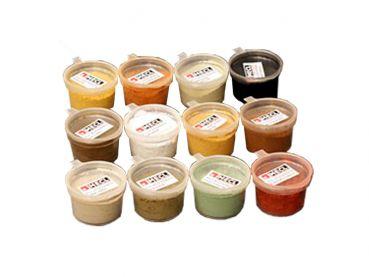 Exklusives Sparpack mit 12 Pulverfarben je 5 ml