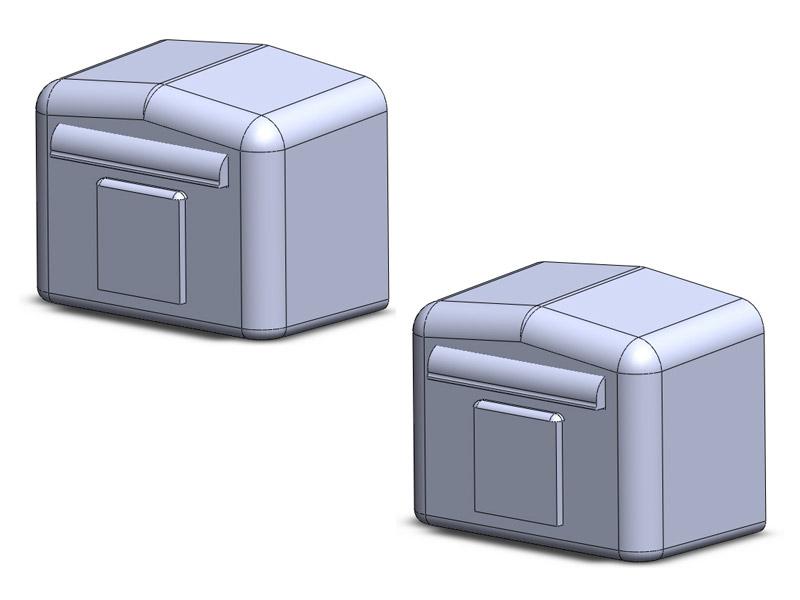 briefkasten deutsche post 2. Black Bedroom Furniture Sets. Home Design Ideas